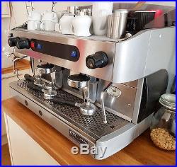 GRIGIA 2 Group Traditional Espresso Machine Chrome
