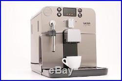 Gaggia Brera Bean to Cup Espresso Coffee Machine With Milk Frother Black