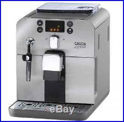 Gaggia Brera Super Automatic Espresso Coffee Machine Maker Stainless Steel New