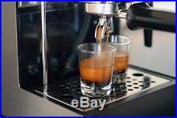 Gaggia Carezza Deluxe Freestanding Espresso Coffee Machine with Milk Frother
