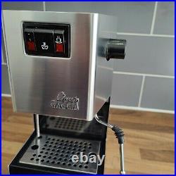 Gaggia Classic Coffee Espresso Machine 2010 with Extras and Rancillio Steam Wand