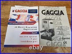 Gaggia Classic Coffee Espresso Machine Maker. Made in Italy 2006