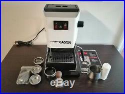 Gaggia Classic Coffee Espresso Machine Semi-Automatic White