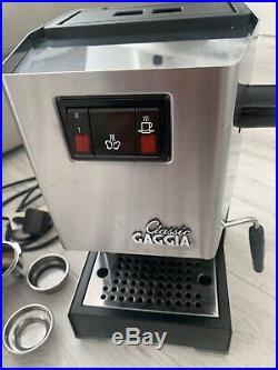Gaggia Classic Coffee Machine 2010 Model Prosumer Quality Perfect espresso 1300W