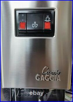 Gaggia Classic Coffee Machine 2011 1300w Upgraded parts & 9 bar OPV