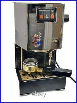 Gaggia Classic Coffee Machine Gold Colour 1999