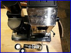 Gaggia Classic Coffee Machine, MDF Grinder, Base Station, Espresso