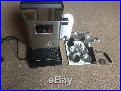 Gaggia Classic Coffee Machine-Rancilio Steam Wand, IMS Shower Screen, 9bar
