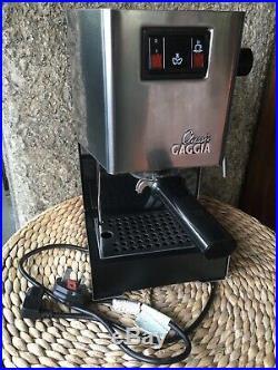 Gaggia Classic Espresso Coffee Machine Brushed Steel