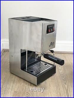 Gaggia Classic Espresso Coffee Machine Pre-2015 With Rancilio Wand 1300W