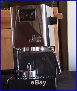 Gaggia Classic Espresso Coffee Maker. Nice Machine. Made In Italy