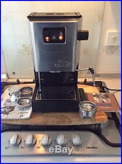Gaggia Classic Espresso Coffee Maker. Very Nice Machine