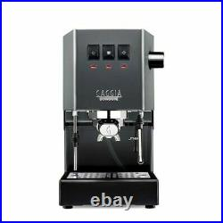 Gaggia Classic Pro Grey Manual Espresso Coffee Machine, Industrial Grey