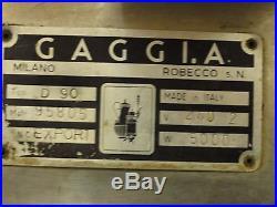 Gaggia D90 Group Coffee and Espresso machine