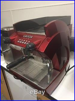 Gaggia GD Compact Red 1 Group Commercial Coffee Espresso Machine Maker