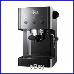Gaggia Gran Style Espresso Coffee Machine with Milk Frother Black