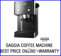 Gaggia Gran Style Manual Coffee Machine Latte Espresso Cappuccino Warranty