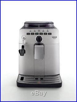Gaggia Naviglio Deluxe Automatic Bean to Cup Coffee Espresso Machine Silver