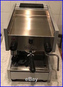 Gaggia Professional TS1 Coffee Machine Espresso Cappuccino