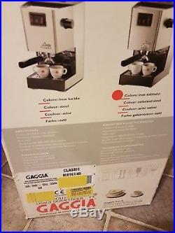 Gaggia RI8161/40 Classic Espresso Coffee Machine