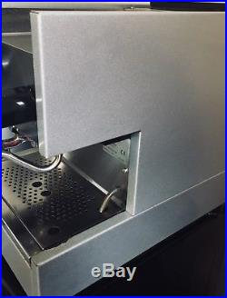 Gaggia TS 2 Cups Commercial Espresso Machine Stainless & Mazzer Coffee Grinder