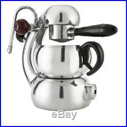 Genuine ATOMIC COFFEE MACHINE Made in Italy Stove Top Espresso Maker Percolator