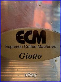 Giotto Espresso Coffee Machine
