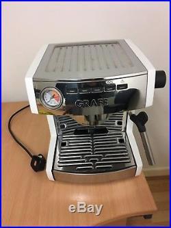 Graef ES86 USED Espresso / coffee Machine and Grinder 2.5 Litre 1470 Watt 15 Bar