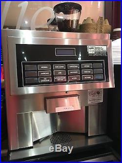 HLF 3600 Bean To Cup Espresso Coffee Machine & Milk Cooler