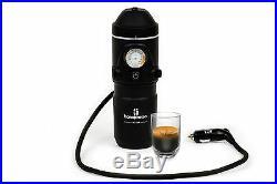 Handpresso Auto 12v Espresso Machine for the Car Ground Coffee & ESE Pods