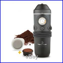 Handpresso Auto Set 12v Espresso Machine for the Car Ground Coffee & ESE Pod