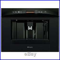 Hotpoint MCH103Q Built In Touch Control Coffee / Espresso Machine Black