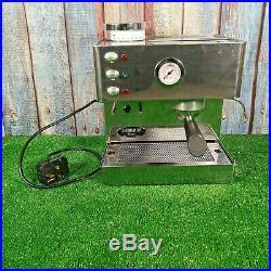 Isomac Brio Espresso Coffee Machine & Built in Grinder Fully Working