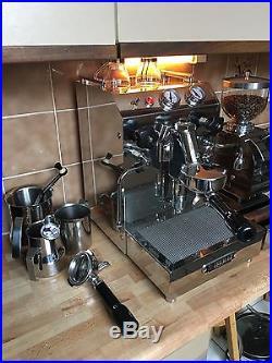 Isomac Tea Manual Espresso Coffee Machine plus GranMacinino Grinder & Knock Box