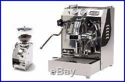 Isomac Tea PID Espresso Cappuccino Coffee Machine & Granmacinino grinder 220V