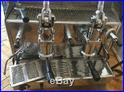Izzo Lever Espresso Machine (dual fuel) gas/electric 2 Group ('my way')