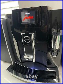 JURA E8 Bean-to-Cup Coffee Machine Package with Milk Cooler, Cup Warmer + MORE +