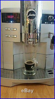 JURA IMPRESSA s9 BEAN TO CUP PROFESSIONAL COFFEE ESPRESSO MACHINE