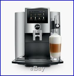 JURA S8 Bean-to-Cup Coffee Machine Chrome