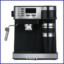 Jack Stonehouse Stainless Steel 15 Bar Combi Espresso & Filter Coffee Machine