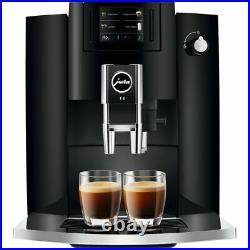 Jura 15350 E6 Bean to Cup Coffee Machine 1450 Watt 15 bar Piano Black