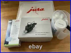 Jura E8 Bean To Cup Programmable Coffee Machine 15 Bar Dark Inox Model 15267
