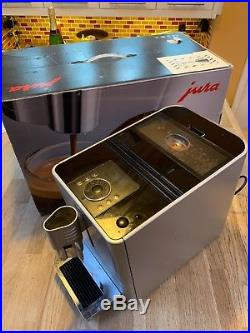 Jura ena 9 bean to cup coffee machine espresso latte etc