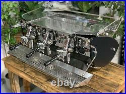 Kees Van Der Westen Mirage 3 Group Black Sides Espresso Coffee Machine Cafe Bar