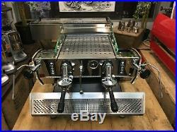 Kees Van Der Westen Mirage Duette 2 Group Black Espresso Coffee Machine Cafe Cup