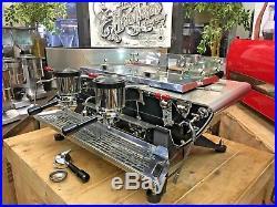 Kees Van Der Westen Spirit Duette 2 Group Stainless Espresso Coffee Machine Cafe