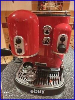 KitchenAid 5KES100EAC Artisan Espresso Coffee Machine -Red