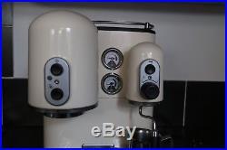 KitchenAid Artisan Espresso Coffee Machine Cream