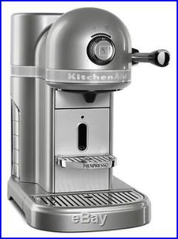 KitchenAid Nespresso R-KES0503SR Instnt Espresso Coffee Machine Sugar Pearl