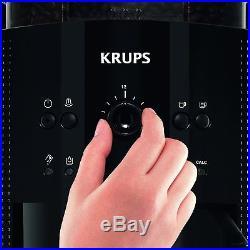 Krups Bean to Cup EA8108 Espresso Coffee Machine Soft Black EA 8108 Genuine NEW